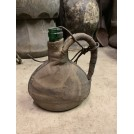 Leather Wrapped Bottle with Handle