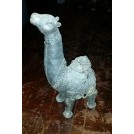 Metal camel ornament