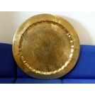 Very large brass plate