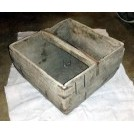 Square wood trug