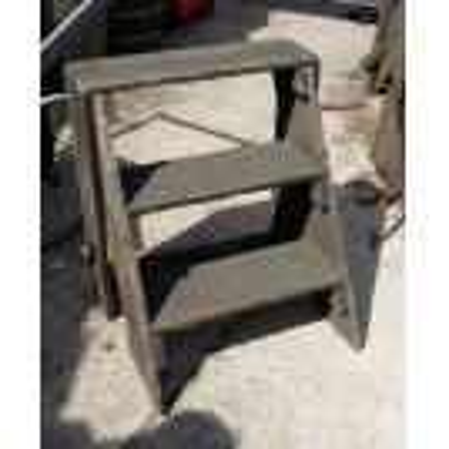 Simple wood steps