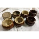 Small ceramic ink bowls