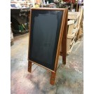 Floor standing sandwich board