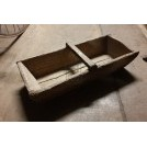 Rectangle wood trug
