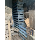 Blue Wooden Crate