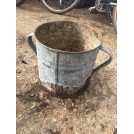 Rusty Galvanised Bucket