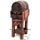 Barrel on Stand with Beaker