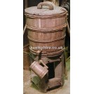 Upright Wood Barrel Stand with Tankard