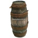 Pipe barrel - rope bound