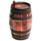 Wood barrel with tap