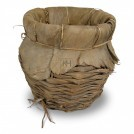 Early round wicker basket