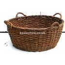 4-handle wicker basket