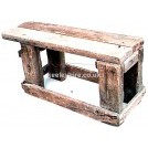 Rough Wood Bench
