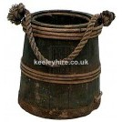 Wood and Iron Bound Bucket