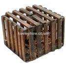 Slatted Wood Cage