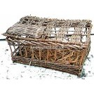 Rectangular Wicker Cage