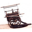 Hand Pump Fire Fighters Cart