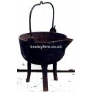 Iron Cooking Pot On Legs