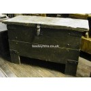 Large Grey Coffer Chest