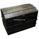 Dark Chest With Curved Lid