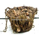Fish Basket With Dressing