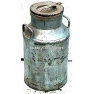 Galvanised Milk Churn #2