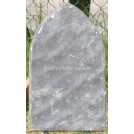 Plain pointed headstone