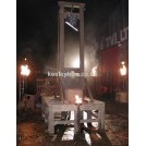 Guillotine with Wooden Stage