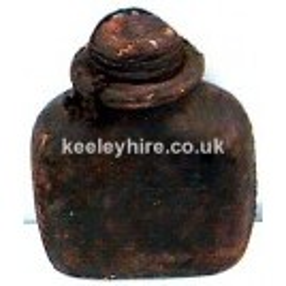 Leather Jar