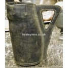 Triangle Handled Leather Jug