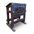 Simple Lectern with Carved Details