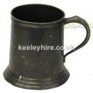 Pewter tankard - assorted