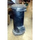 Cylindrical Cast Iron Stove