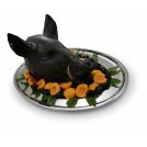 Boars Head on Platter