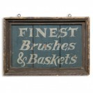 Brushes & Baskets Sign