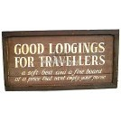 Good Lodging Sign