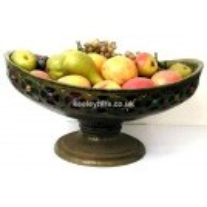 Large Bronze Fibreglass Bowl