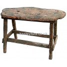 Rough rounded edge table