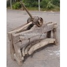 Wheelwrights stand & wheel