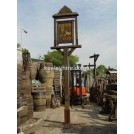 Freestanding sign post