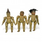 Carved Wooden Dolls