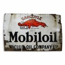 Mobiloil Enamel Sign