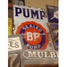 Enamel BP Pump sign