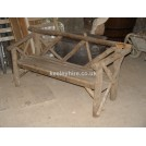 Wood rustic chair