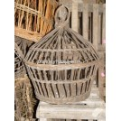 Dome Wicker Cage