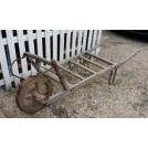 Plain wood Slatted wheelbarrow