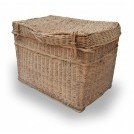 Rectangle wicker baskets
