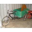 Bicycle with grocers carriage