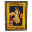 Jacobs Cream Crackers sign