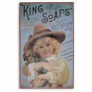 King of Soaps Sign